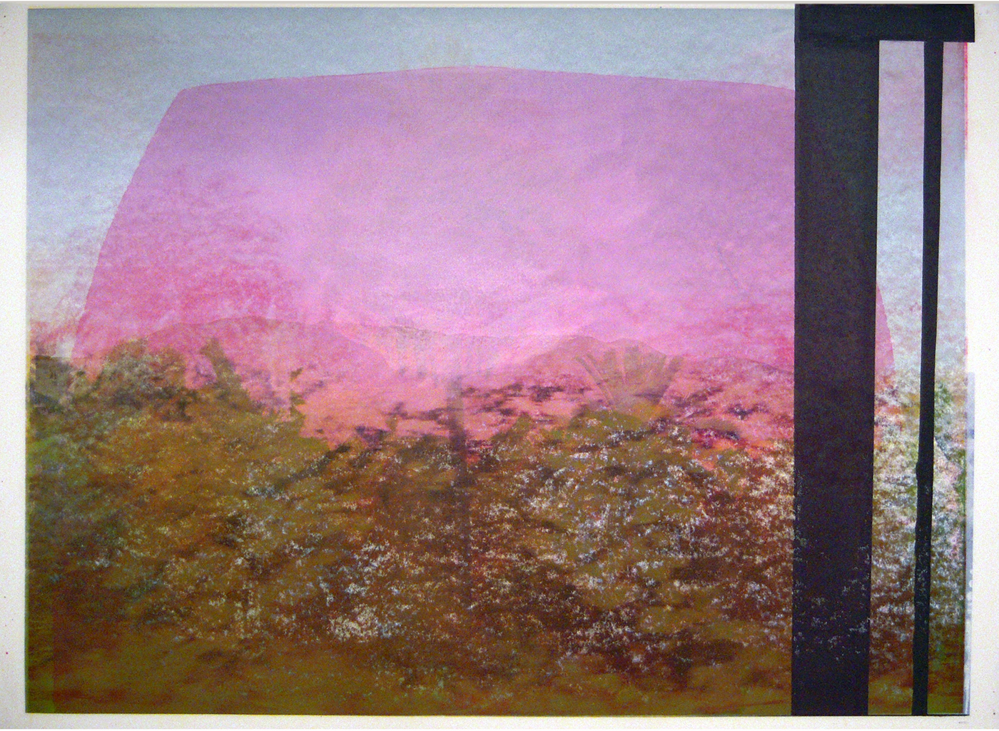 Daniele Genadry - Between Saida and Sur (Pink), 2009