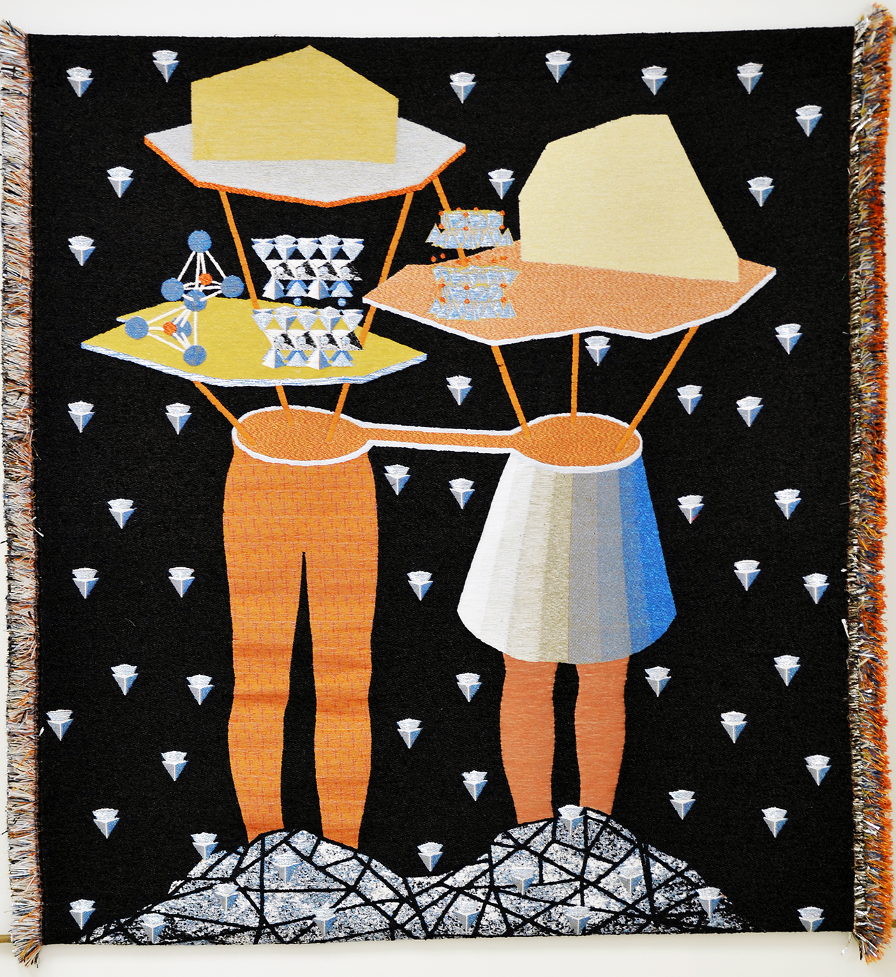Otobong Nkanga - In Pursuit of Bling : The Transformation, 2014