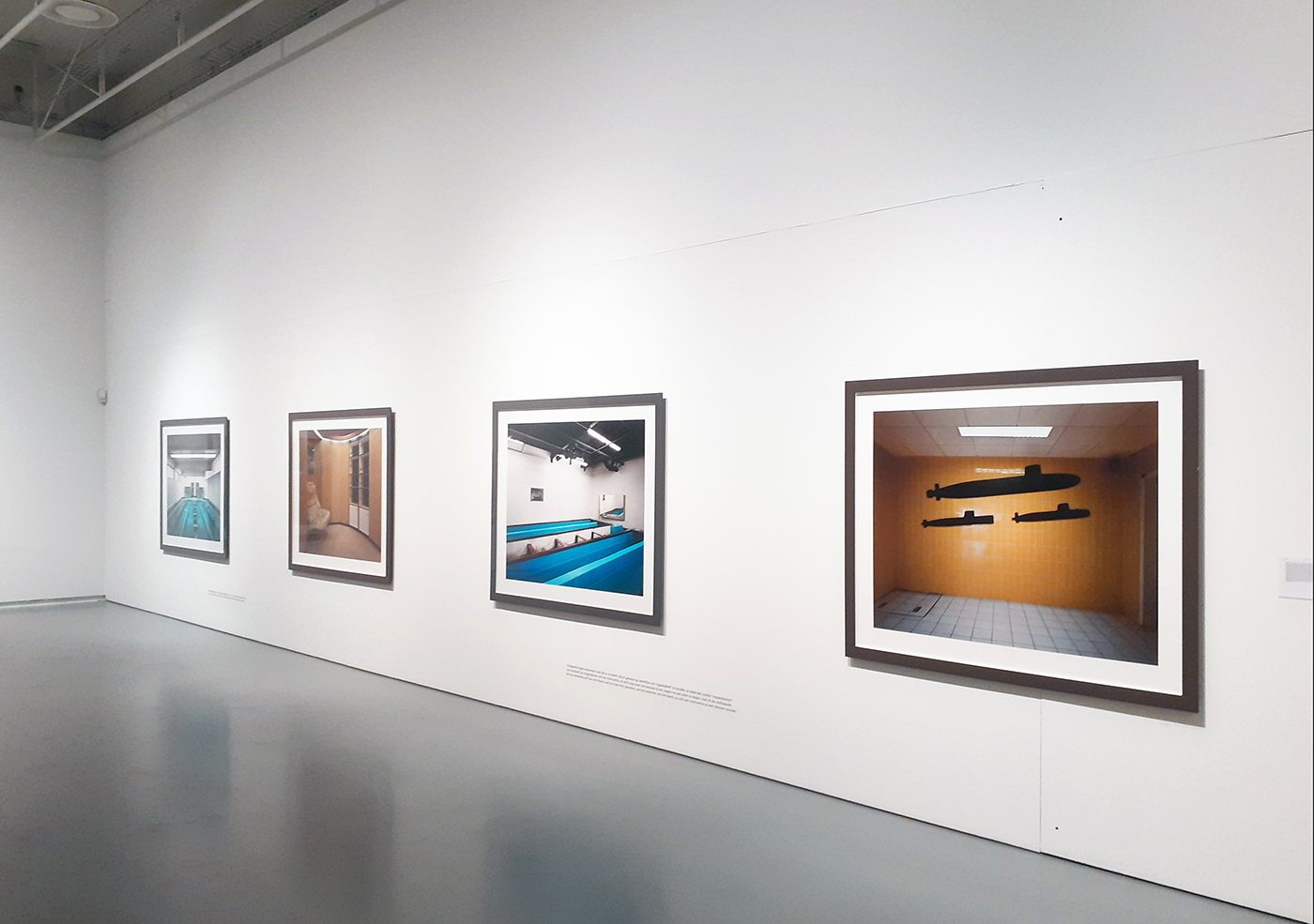 Lynne Cohen / Estate  - Untitled (submarines), 2007