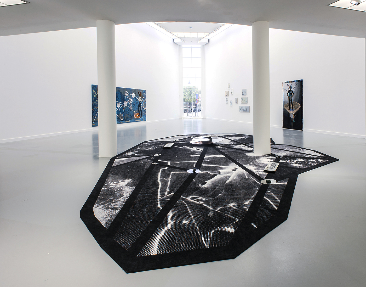 "Otobong Nkanga - Exhibition views ""Bruises and Lustre"" M HKA Anvers - Belgium, 2015-2016"