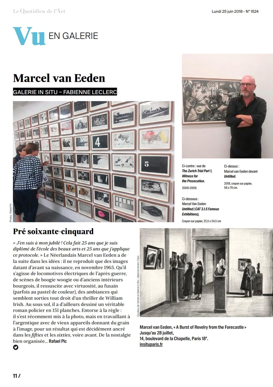 Marcel Van Eeden In Situ Fabienne Leclerc